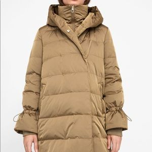 f41dcdb1 Zara Jackets & Coats | Down Coat With Wrap Collar Size M | Poshmark